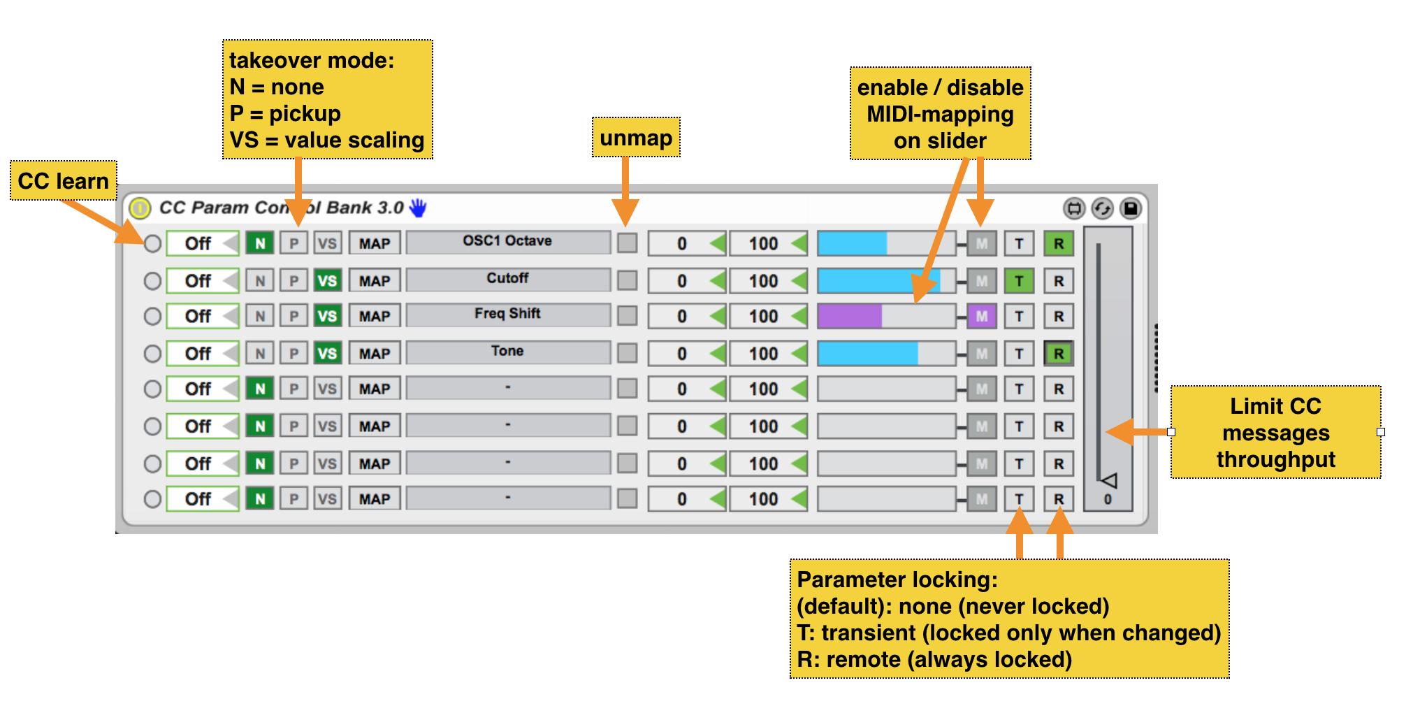 CC Param Control Bank version 3 0 by atomictag on maxforlive com
